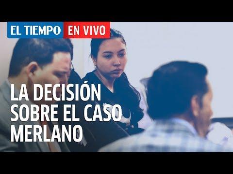 Juez toma decisión sobre la hija de Merlano