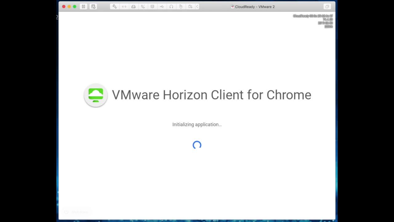 Horizon Kiosk with CloudReady Chrome OS — Thick Guy ThinApp