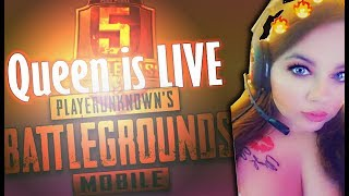 PUBG MOBILE LIVE | RANK PUSHING SEASON 5 | + SPONSOR & SUBSCRIBER CUSTOM ROOMS