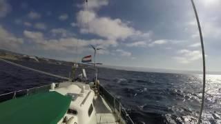 El Galante sails from Gran Tarajal Fuerteventura to San Sebastián La Gomera