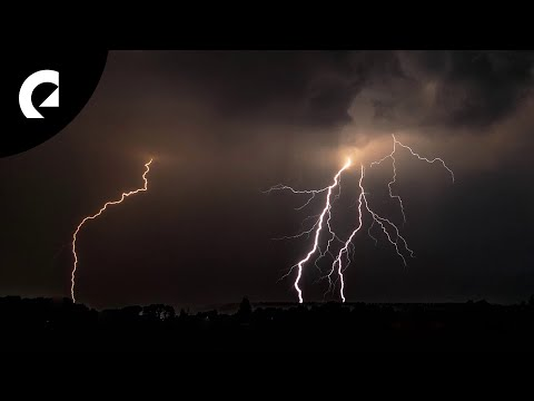 30 Minutes Of Rain And Thunderstorm Sounds For Focus, Relaxing And Sleep ⛈ Epidemic ASMR