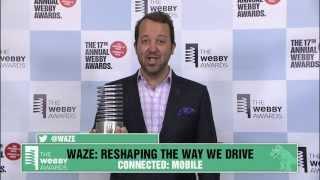 Waze's 5-Word Speech at the 17th Annual Webby Awards