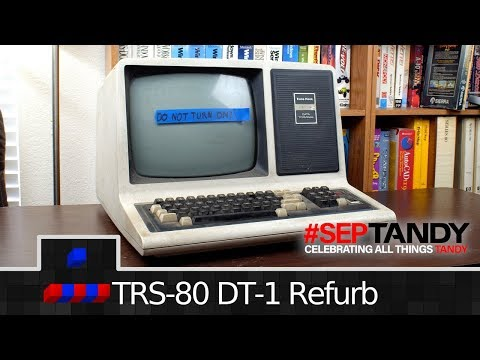 TRS-80 DT-1 Refurb Pt1: Analysis and Electronics | #SepTandy