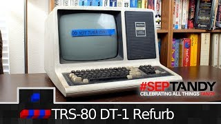 TRS-80 DT-1 Refurb Pt1: Analysis and Electronics   #SepTandy