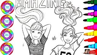 How To Color Drawing Barbie Make today AMAZING 2020 Soccer Team Player Girls Coloring for Everyone