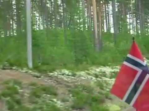 Vakantie in Zweden mooie paarse planten en natuur juli 2012