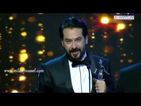 تكريم الفنان ميلاد يوسف خلال حفل The Award 2017