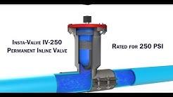 Insta-Valve - Gate Valve inserted onto live water line. Advanced Flow Technologies