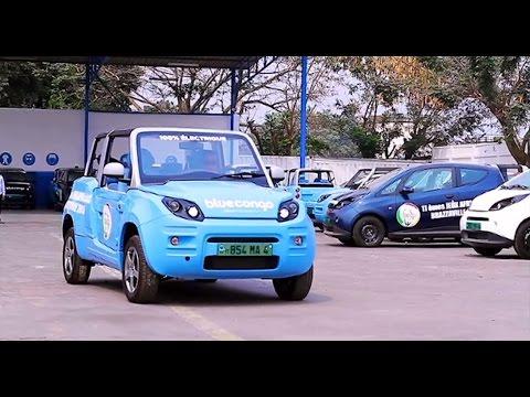 Bluecongo : des véhicules 100% électriques au services des Jeux Africains