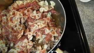 Italian Bowtie Pasta Dinner In 20 Minutes