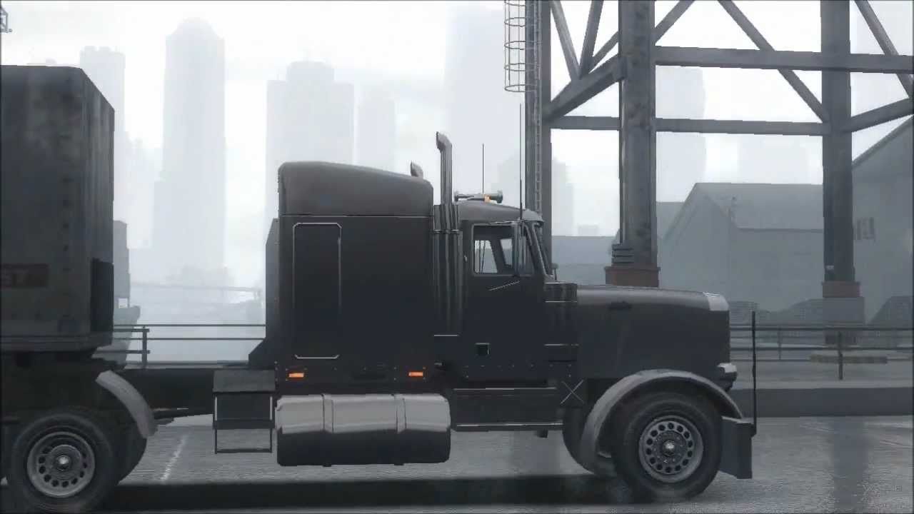 gta iv truck and trailer - YouTube