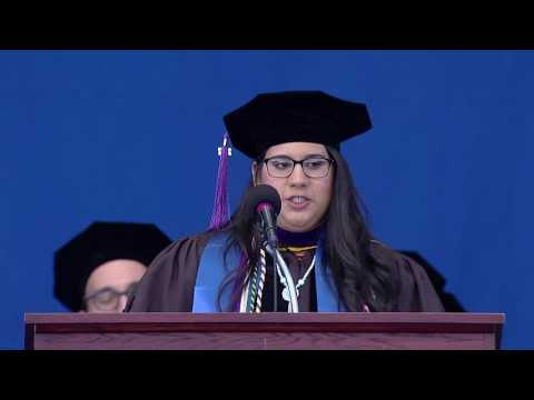 2017 Suffolk Law Commencement Student Speaker