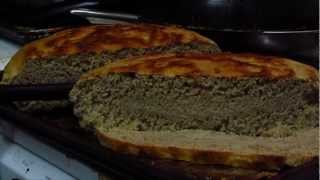 Cast Iron Wheat Bread