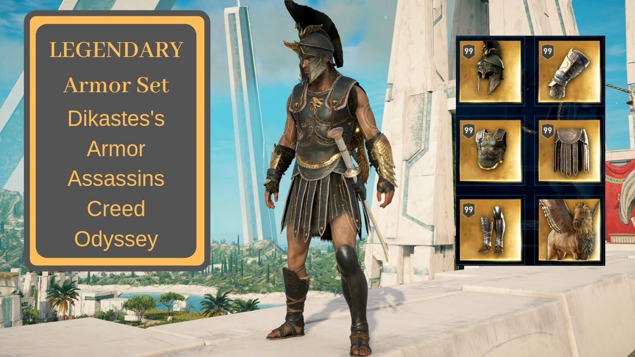 Assassins Creed Odyssey Dikastes S Legendary Armor Atlantis Dlc