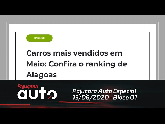 Pajuçara Auto Especial 13/06/2020 - Bloco 01