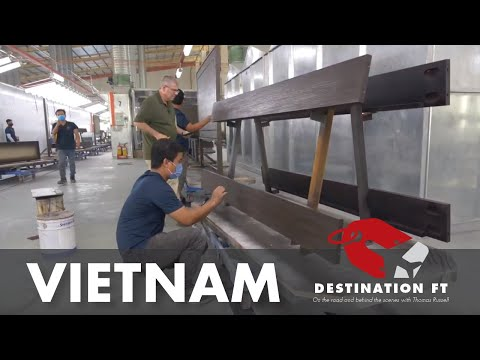 Tour Of Stanley Furniture Facility In Ho Chi Minh City, Vietnam