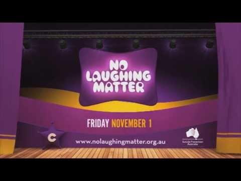 No Laughing Matter Comedy Gala Promo