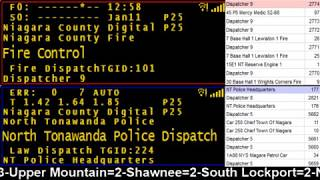 01/11/18 PM Niagara County Police & Fire Scanner Stream Fire Wire
