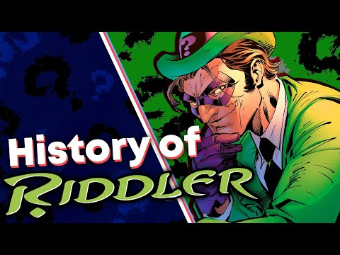 History of The Riddler! (Edward Nigma) [Batman]