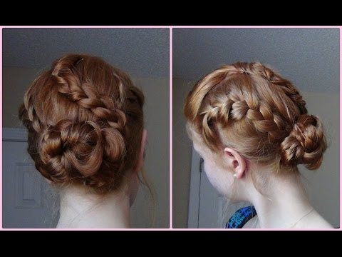 French Braided and Braided Updo! ♥