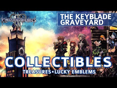 Kingdom Hearts 3 - The Keyblade Graveyard All Collectible Locations (Lucky Emblems & Treasures) from YouTube · Duration:  2 minutes 43 seconds