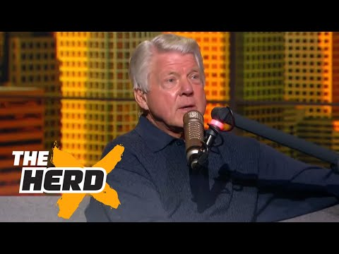 Jimmy Johnson joins Colin to talk 201617 Cowboys, Dak Prescott and more  THE HERD FULL