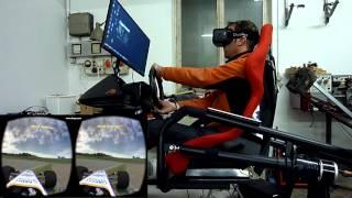 Oculus Rift DK2 - Live for Speed Full Motion Simulator Demo