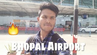 Raja Bhoj  International Airport Bhopal 🔥