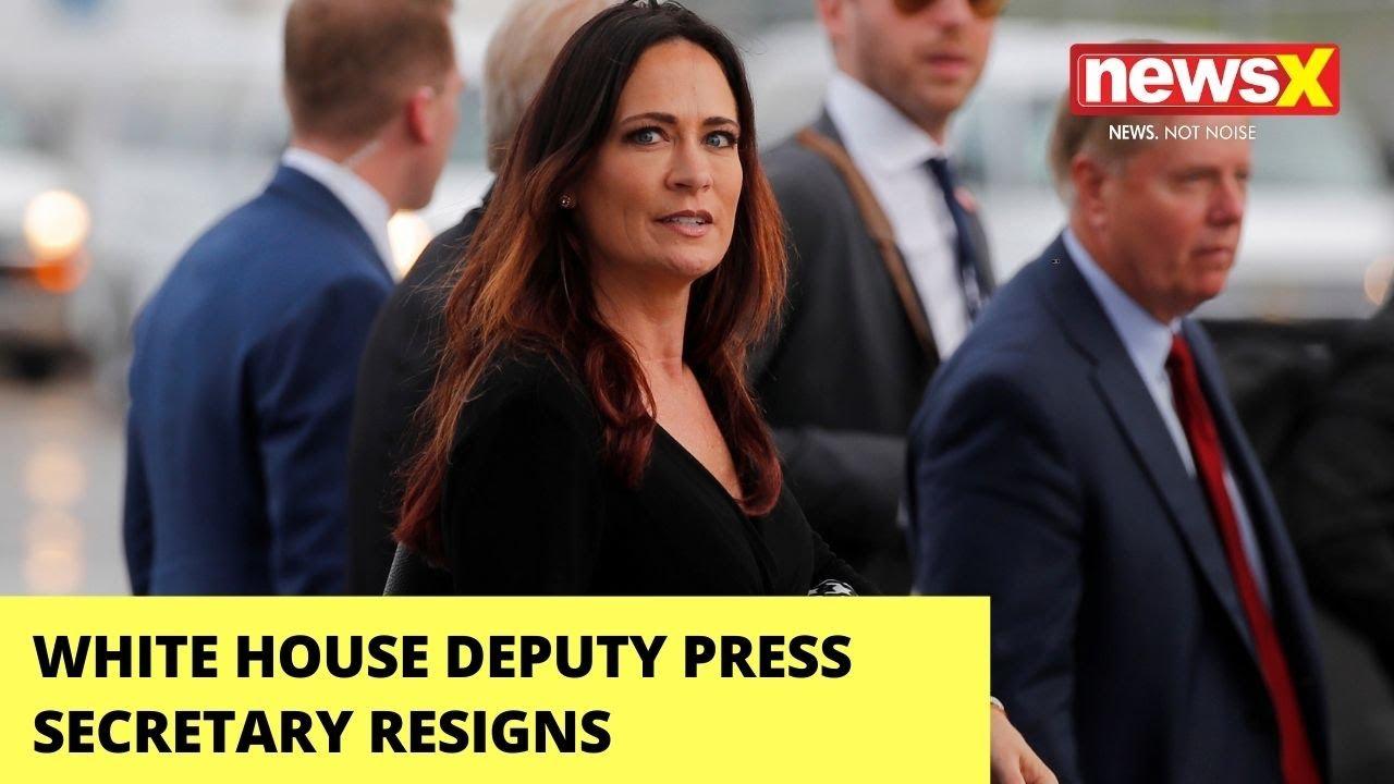 White House deputy press secretary Sarah Matthews resigns amid ...