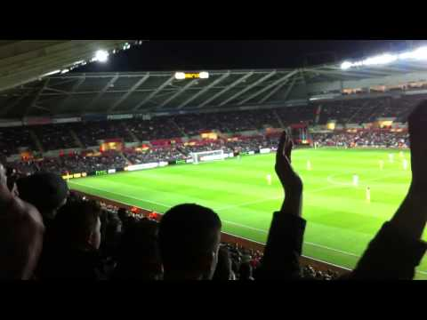 Swansea City FC atmosphere - Liberty Stadium
