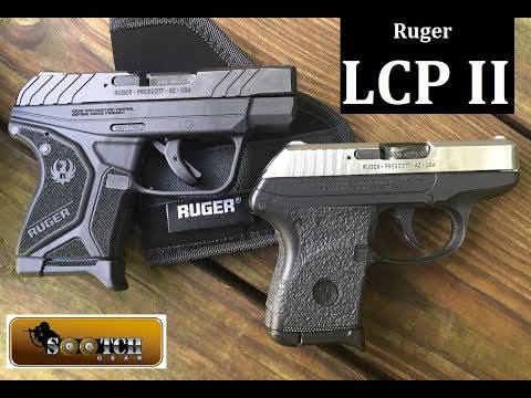 Ruger LCP II Pistol Review : Deep Concealment