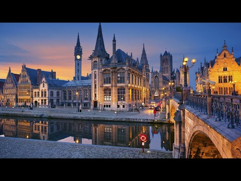 "Ghent, Belgium's coolest city (4K ultra HD) | ""Manhattan of the Middle Ages"""