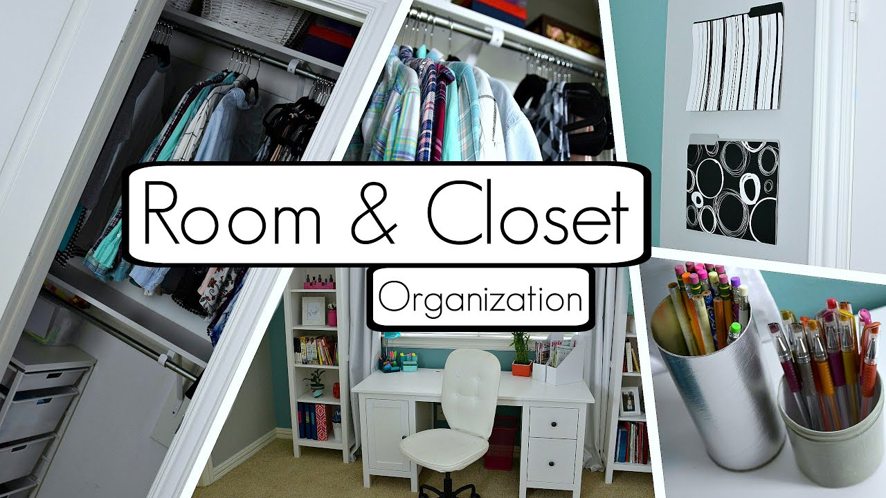 How To Organize Your Room And Closet! BEST Tips And Tricks + DIYu0027s!    YouTube