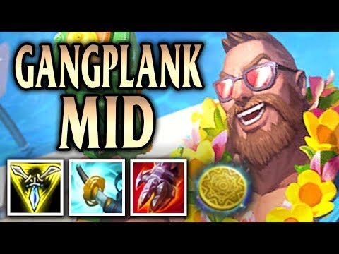 New Buffed Stormrazor Gangplank! Pool Party Gangplank Mid - League of Legends S8