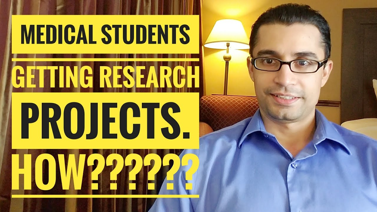 How to ask for Research Projects as a Medical Student during clinical  rotations or electives!