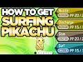 How to Get Surfing Pikachu In Pokemon Ultra Sun and Moon | Austin John Plays