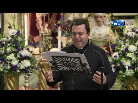 El sacerdote Ignacio Fernández de Navarrete pronunció el Pregón de la Esperanza