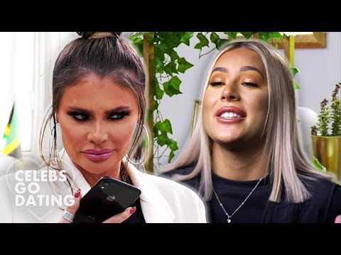 Demi & Chloe Sims AWKWARDLY Let Their Dates Down! | Celebs Go Dating