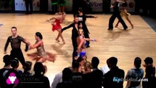Miha Vodicar - Nadiya Bychkova, Brno Open 2013, WDSF WO latin, 2. round - paso doble