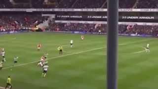 Tottenham vs Arsenal 2 1 All Goals 2015 HD
