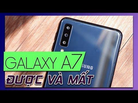 H啤n 7 tri峄噓 mua Galaxy A7 2018 膽瓢峄 g矛 m岷 g矛?