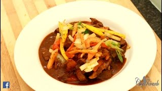 How To Cook Liver At Home - (Jamaican Cooking)   Recipes By Chef Ricardo