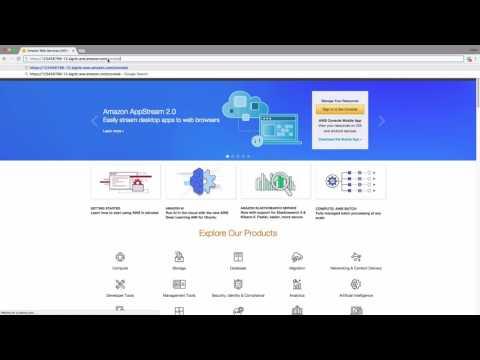 AWS Create IAM admin user