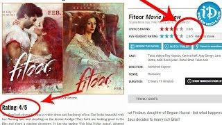 Fitoor Movie Review And Rating Exclusive - Aditya Roy Kapoor    Katrina Kaif