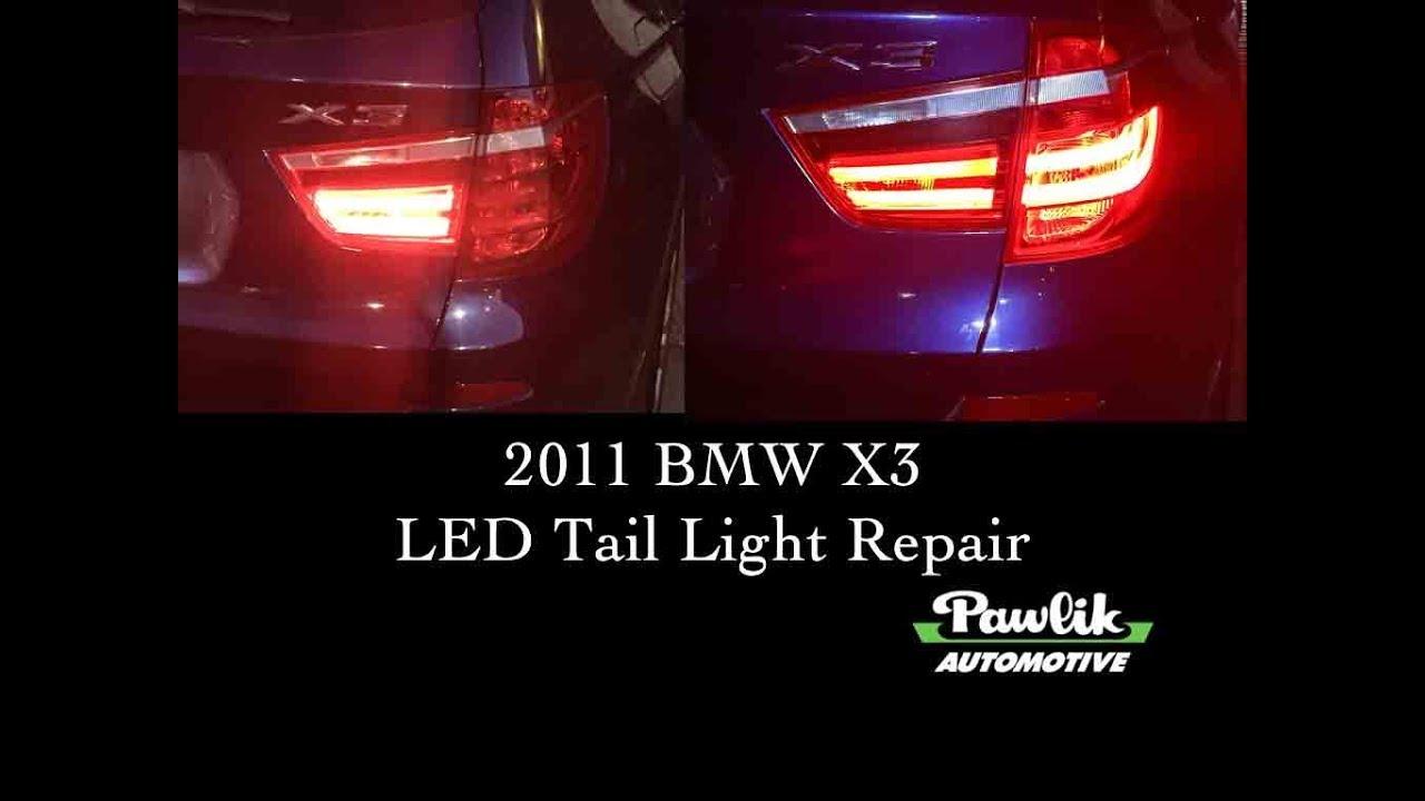 2017 Bmw X3 Led Taillight Repair