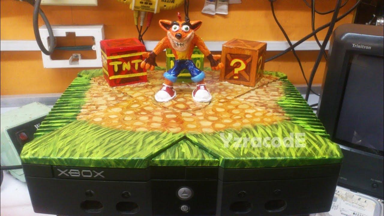Xbox Personalizado Crash Bandicoot Youtube