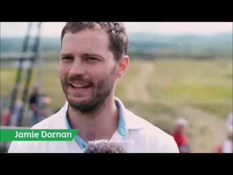 Jamie Dornan - DDF Irish Open Interview / Magic Trick