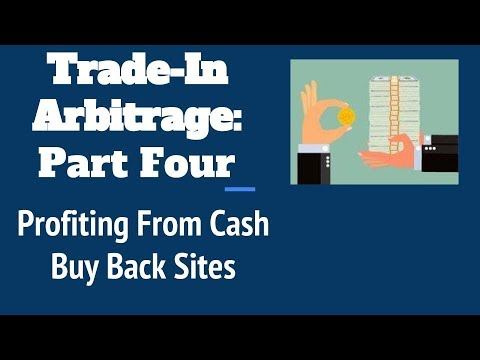 Amazon trade-in arbitrage: Profiting from book buy back sites