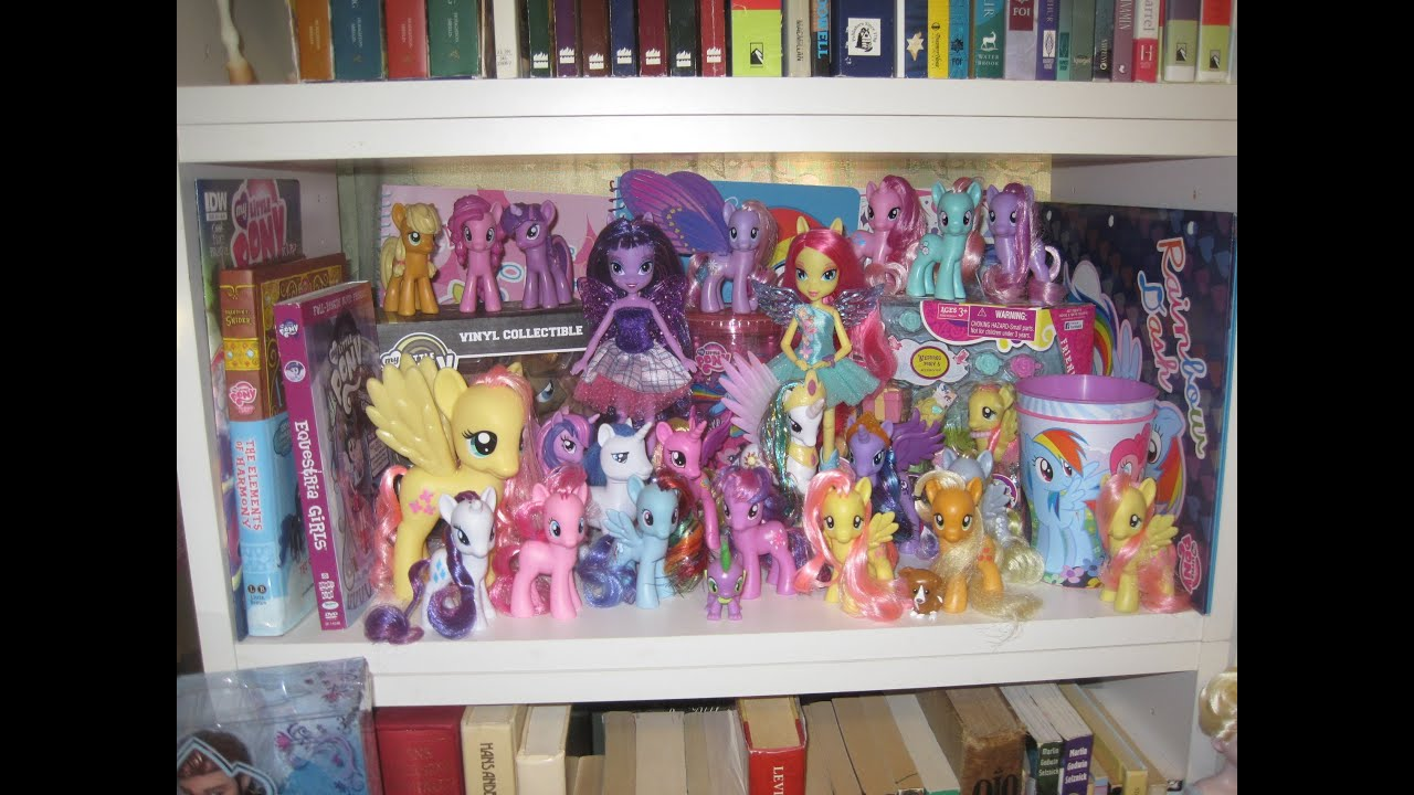 Room Tour #4: My Little Ponies, Beauty And The Beast, Zelfs And More!    YouTube