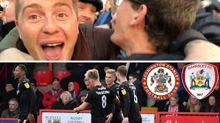 Accrington Stanley 0 Barnsley 2   Electric Atmosphere!!!   Matchday Vlog#22